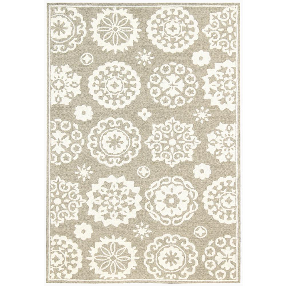 Amer Rugs Pizazz Beige Pattern 2 Ft X 3 Accent Rug