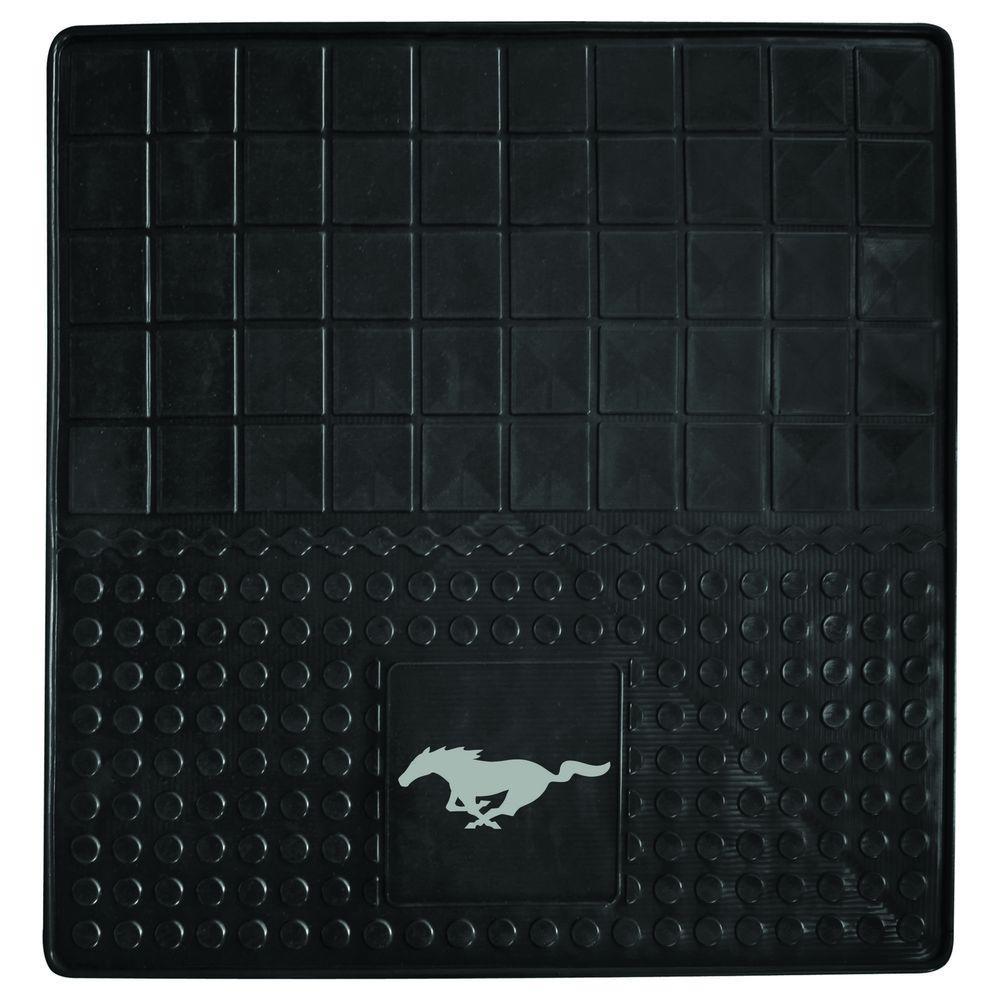Ford Mustang Horse Heavy Duty 31 in. x 31 in. Vinyl Cargo Mat