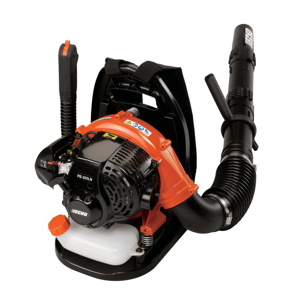 Echo Power Blower Pb 1000 : Echo mph cfm gas leaf blower pb ln the home depot