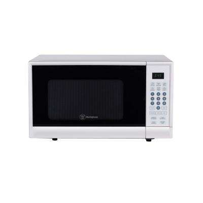 0.9 cu. ft. 900-Watt Countertop Microwave in White