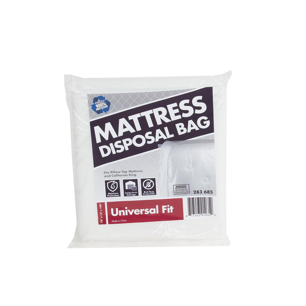 pratt retail specialties mattress disposal bag 7007008 the home depot