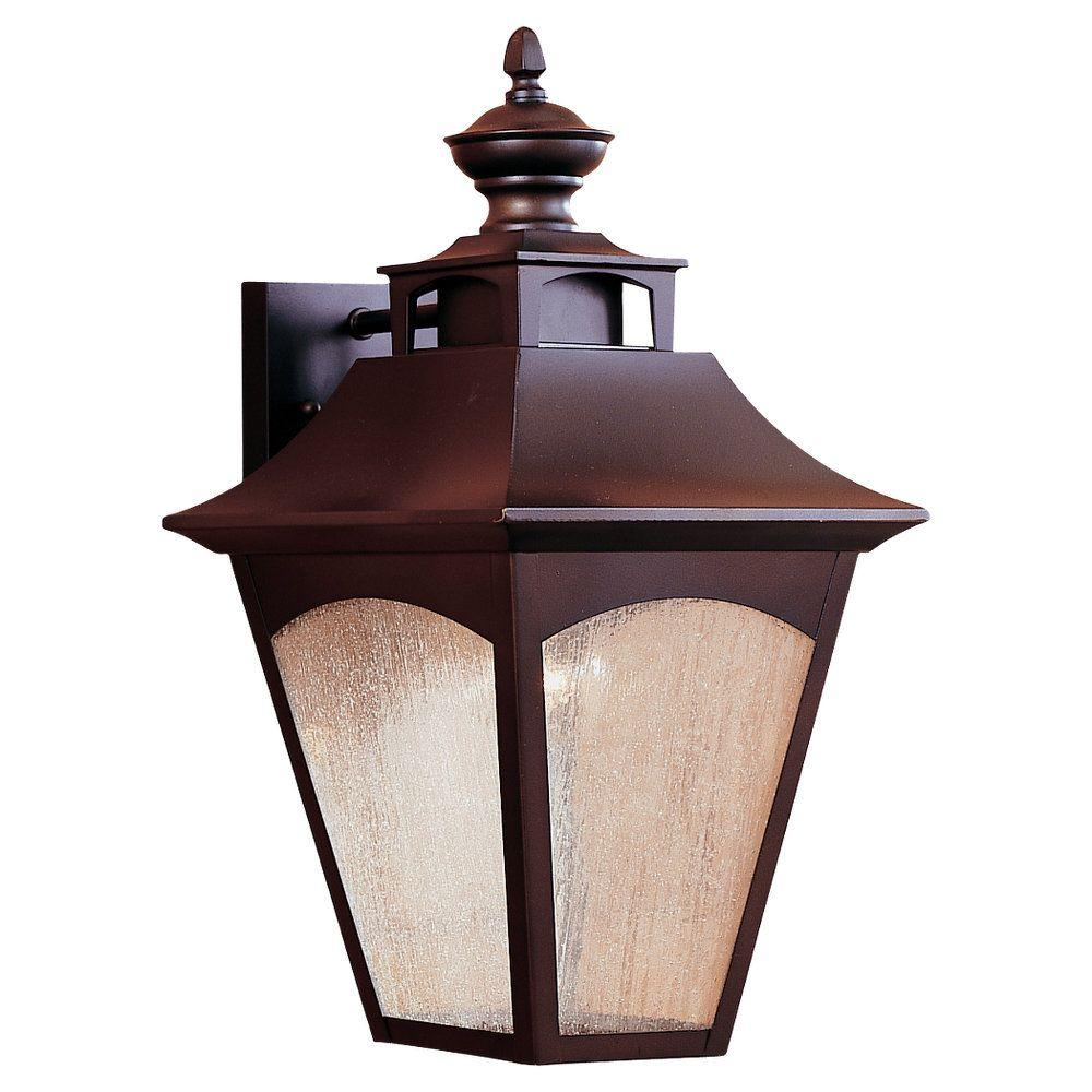 Homestead 1-Light Oil-Rubbed Bronze Outdoor Wall Lantern