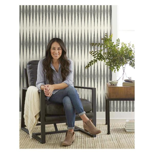 Magnolia Home by Joanna Gaines - Handloom Paper Strippable Wallpaper (Covers 56 sq. ft.)