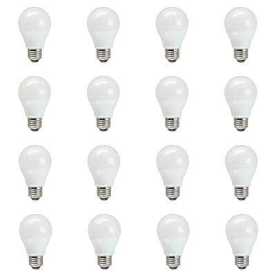60W Equivalent Daylight A19 Non Dimmable LED Light Bulb (12-Pack)