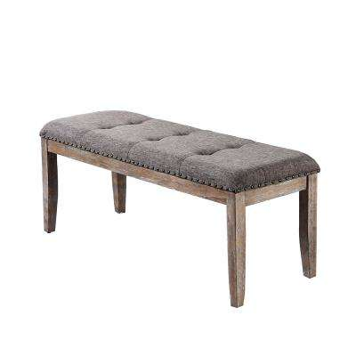 Helen Natural Fabric Bench