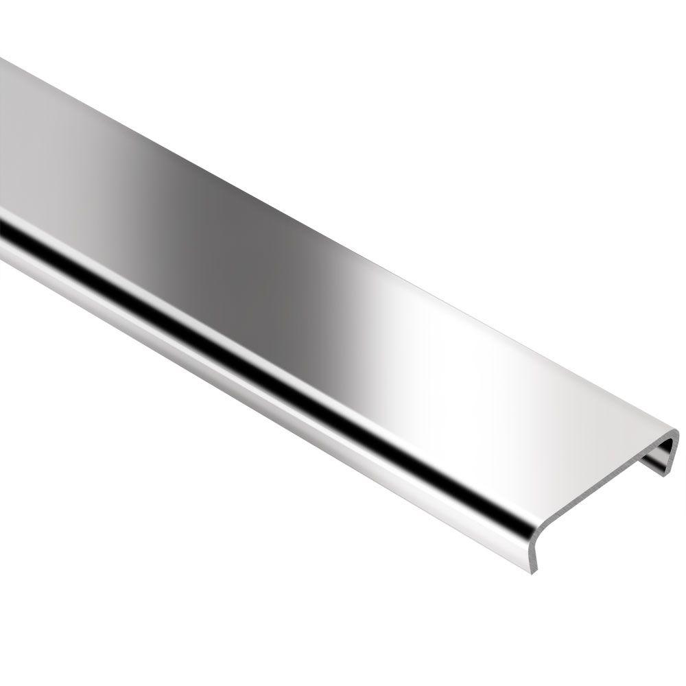 Schluter Designline Stainless Steel 1/4 In. X 8 Ft. 2-1/2