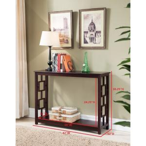 Phenomenal Kings Brand Furniture Cherry Entryway Console Sofa Ncnpc Chair Design For Home Ncnpcorg