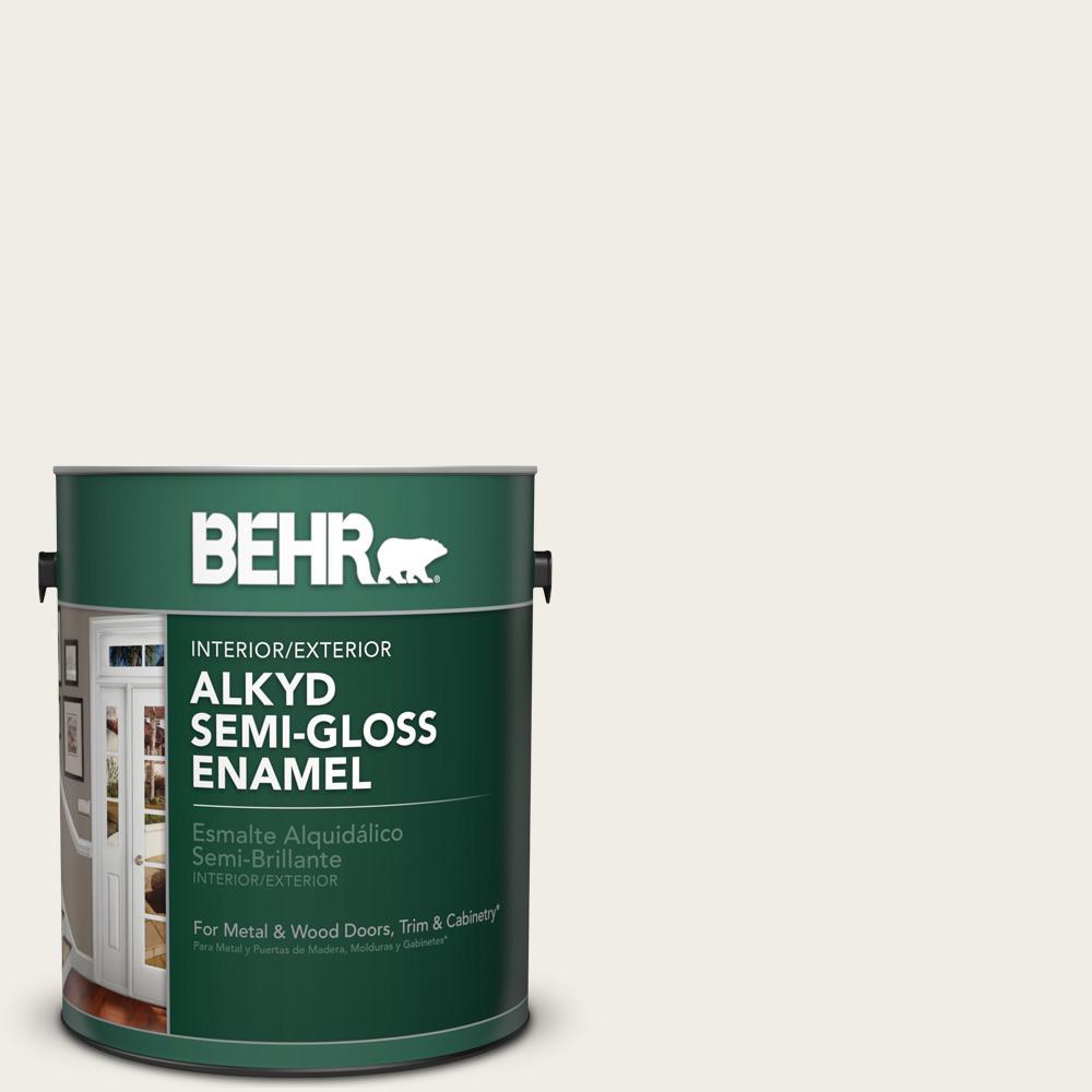 Behr 1 Gal 780c Sea Salt Semi Gloss Enamel Alkyd Interior