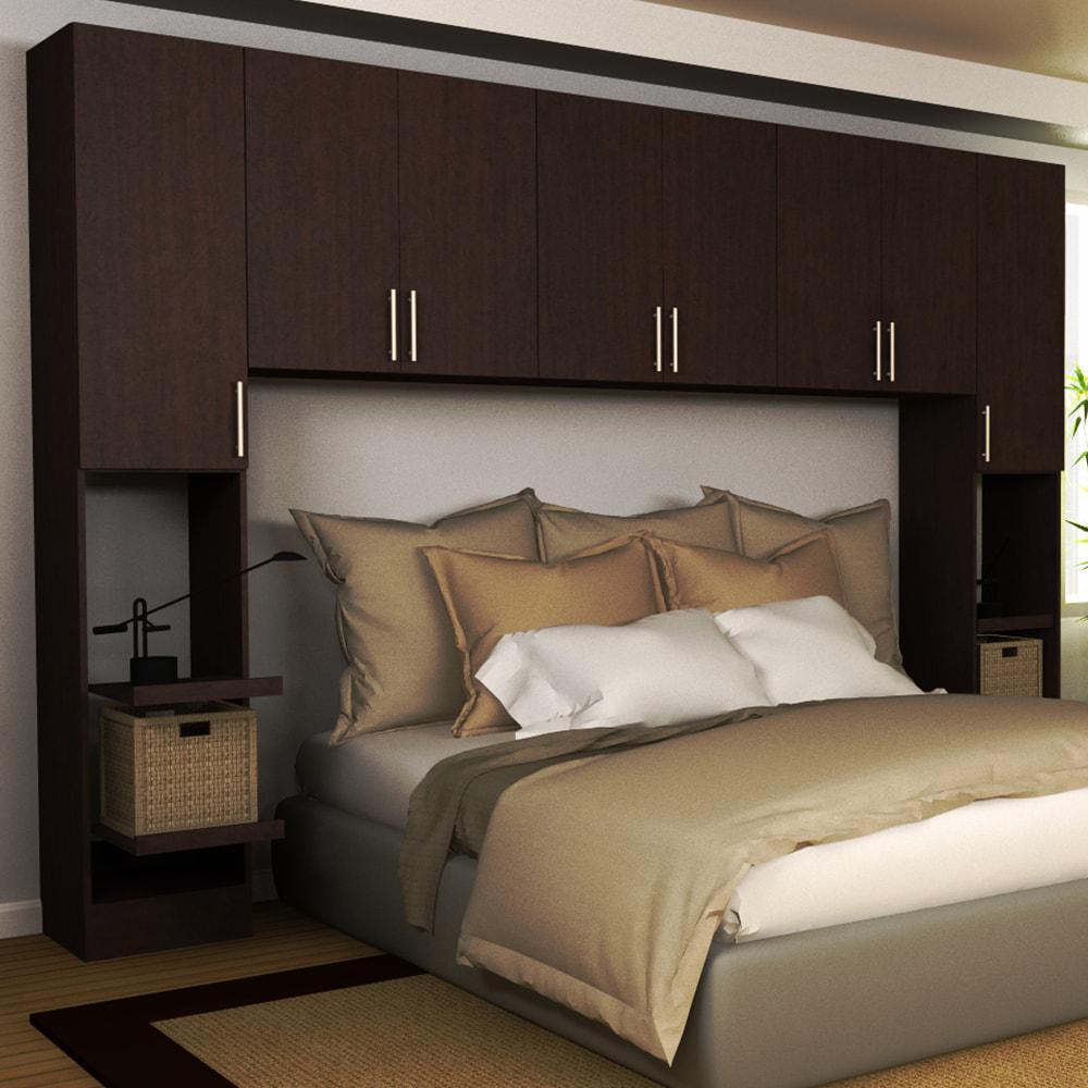 Horizon 1-Piece Mocha King Bedroom Kit