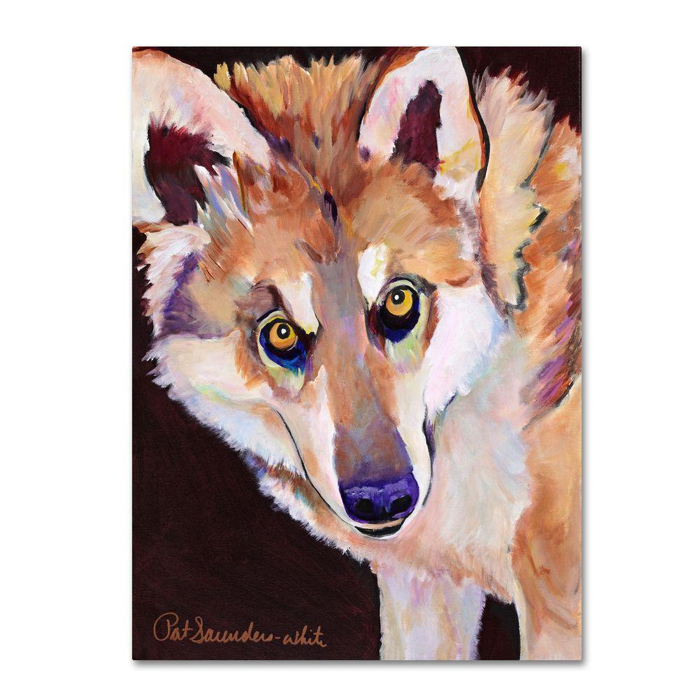 Trademark Fine Art 18 in. x 24 in. Night Eyes Canvas Art