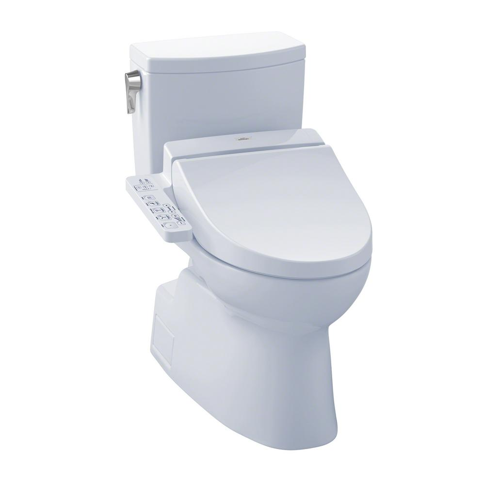 Toto Vespin Ii Connect 2 Piece 1 0 Gpf Elongated Toilet