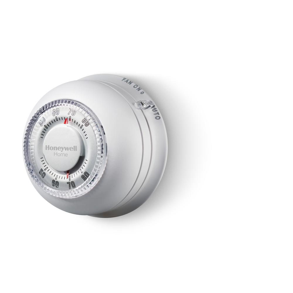 Honeywell Home Round Heat  Cool Thermostat-ct87n