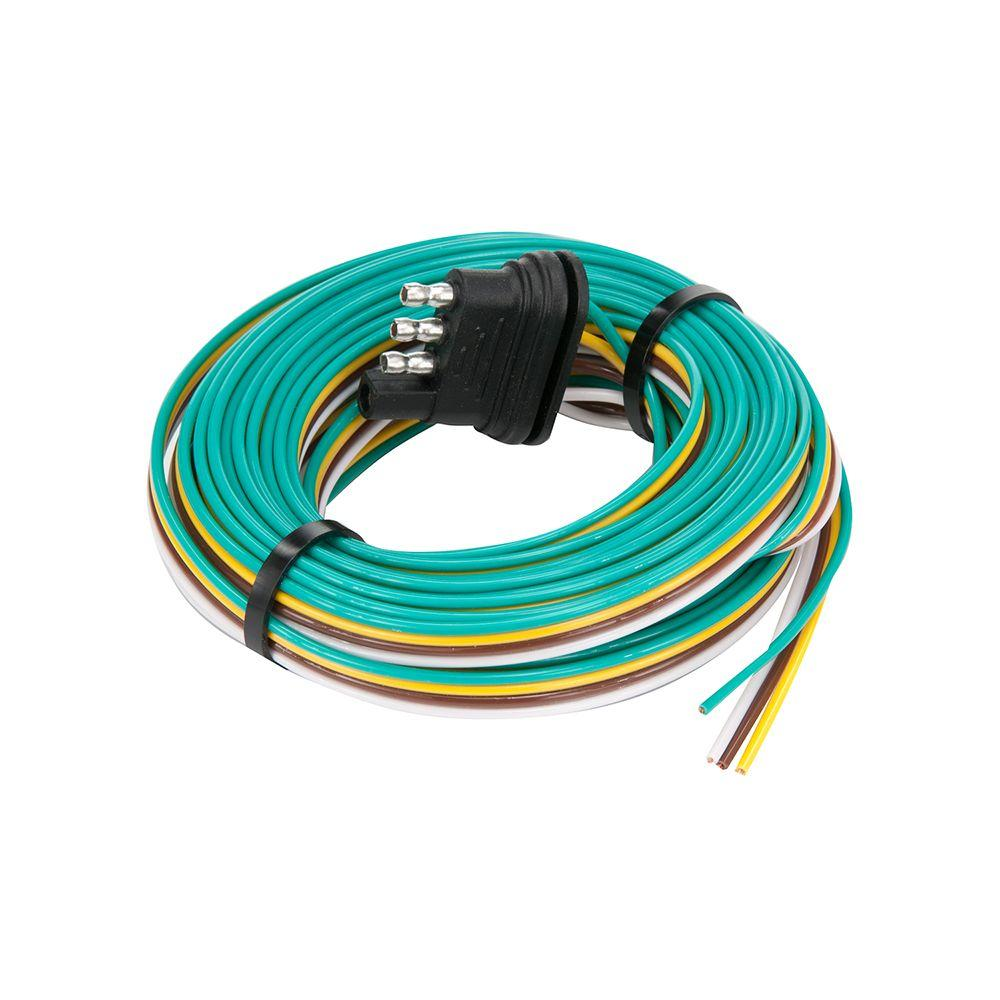 TowSmart 24 ft. Trailer End Trailer Wiring Connector-1413 - The Home ...