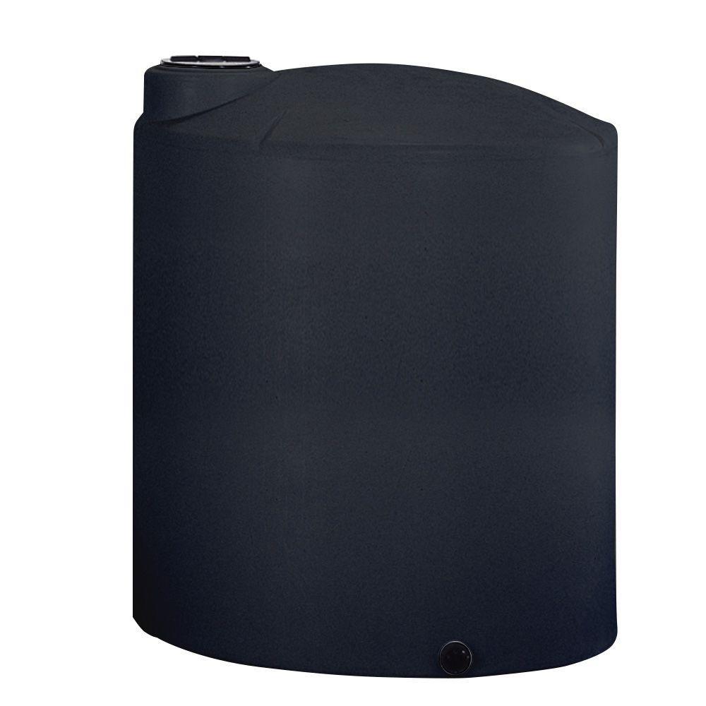 3000 Gal. Black Vertical Water Tank