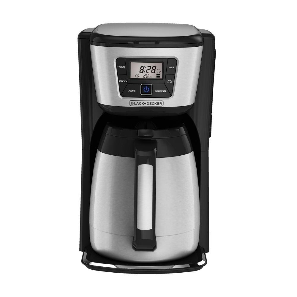 Black and decker coffee maker 12 cup programmable - Black Decker 12 Cup Programmable Coffee Maker