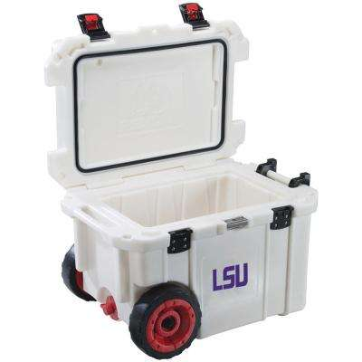 45 Qt. Louisiana State University Tigers Elite Wheeled Cooler