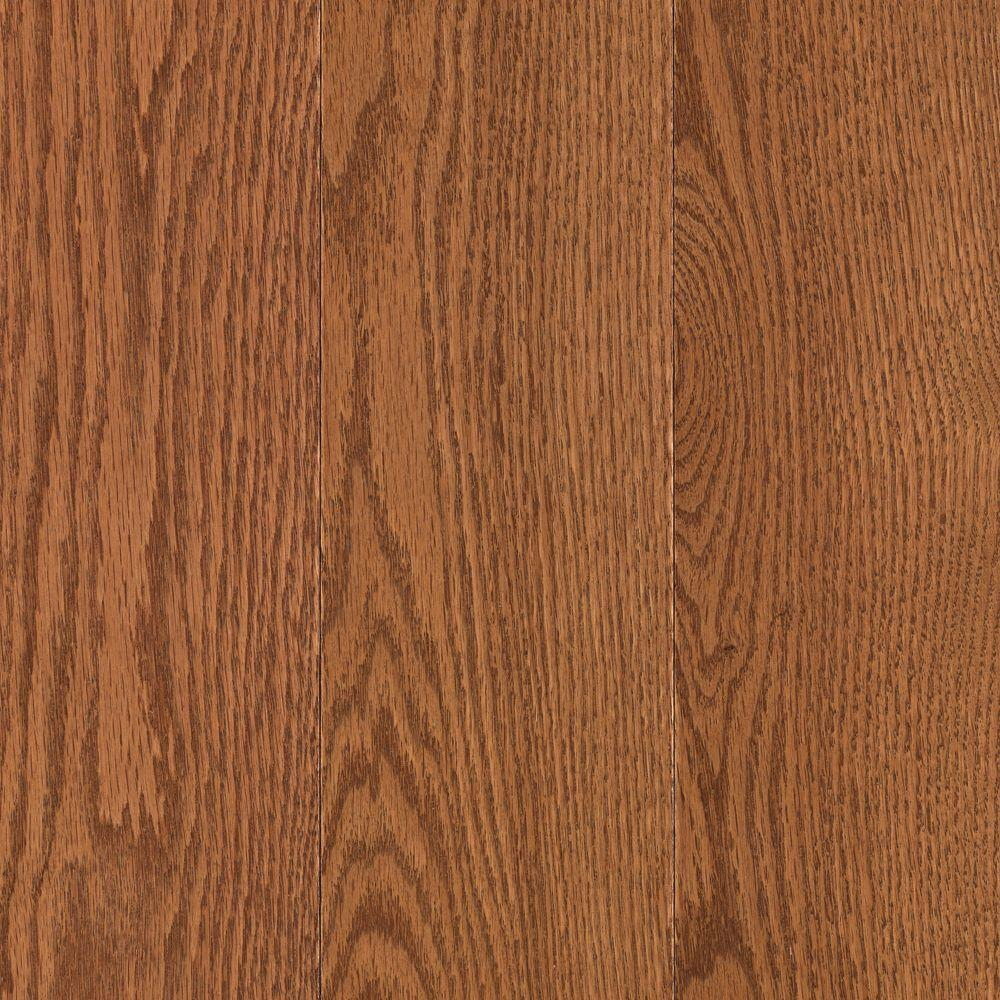 Mohawk Raymore Oak Gunstock 3/4 in. Thick x 5 in. Wide x Random Length Solid Hardwood Flooring (19 sq. ft. / case)