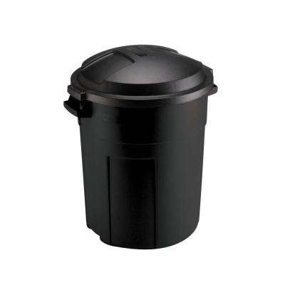 36 Qt Large Open Wastebasket Classy Rubbermaid Trash Cans Trash Recycling The Home Depot