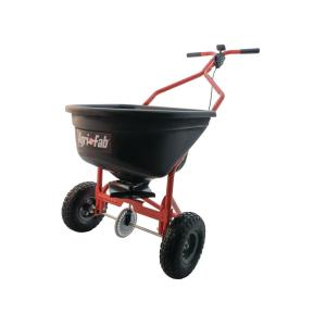 Click here to buy Agri-Fab 110 lb. Push Broadcast Spreader by Agri-Fab.