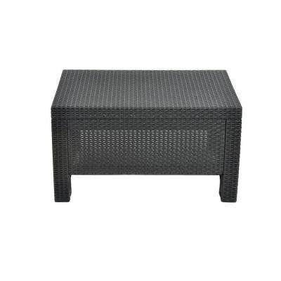 Corfu Charcoal All Weather Patio Coffee Table