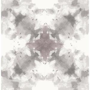 8 in. x 10 in. Mysterious Grey Abstract Wallpaper Sample