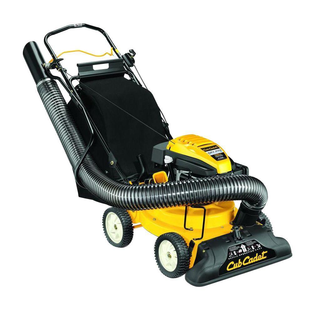 1.5 in. 159cc Self-Propelled Gas Chipper Shredder Vacuum