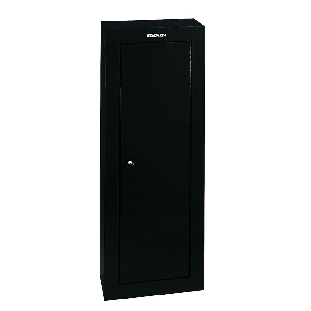 Stack On 8 Gun 6 Cu. Ft. Key Lock Security Cabinet
