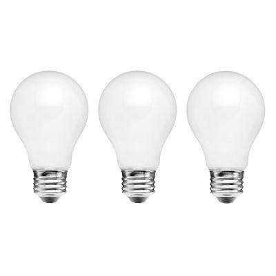 60-Watt Equivalent A15 Dimmable Energy Star Frosted Filament LED Light Bulb Soft White (3-Pack)