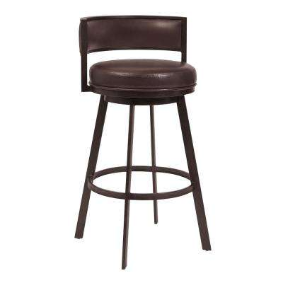 Chateau 38 in. Brown Barstool