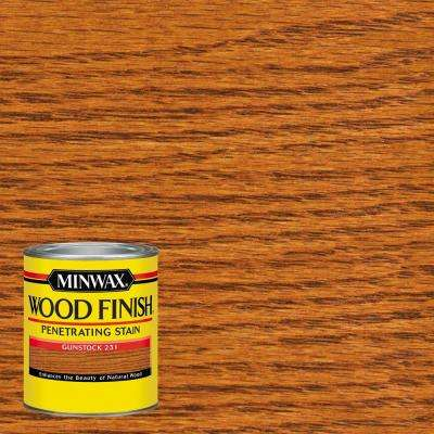 1 qt. Wood Finish Gunstock Oil Based Interior Stain (4-Pack)