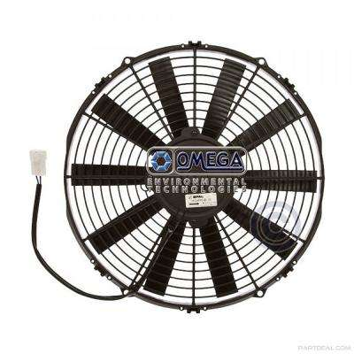Dual Radiator and Condenser Fan Assembly