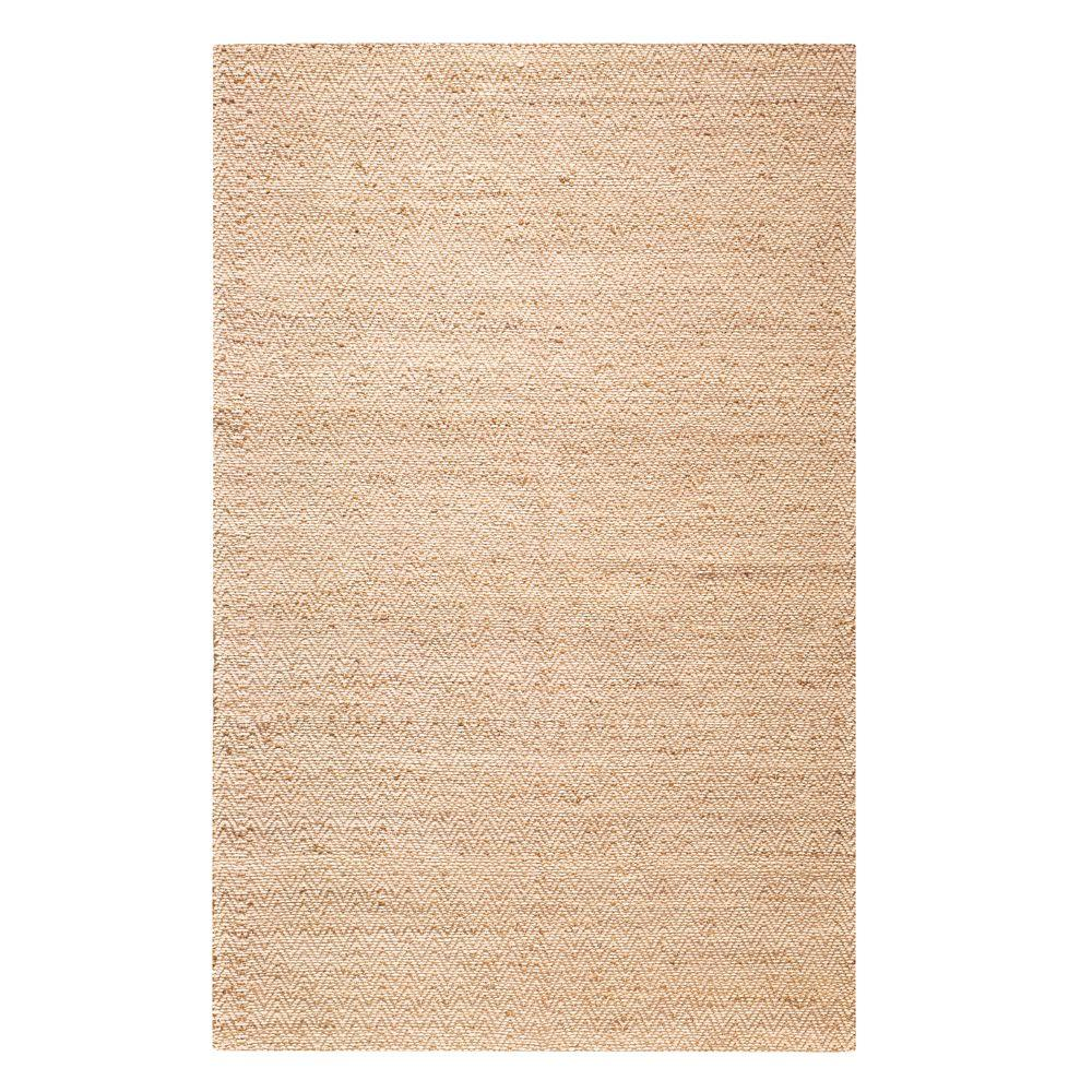 Home Decorators Collection Zigzag Natural 5 ft. 6 in. x 8 ft. 6 in. Area Rug