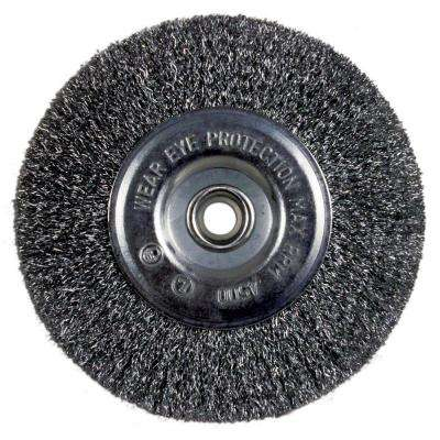 6 in. Bench Wire Wheel Coarse