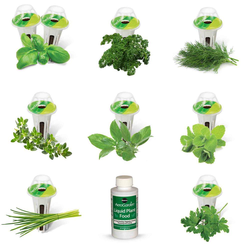 Miracle-Gro AeroGarden 9-Pod Gourmet Herb Seed Kit