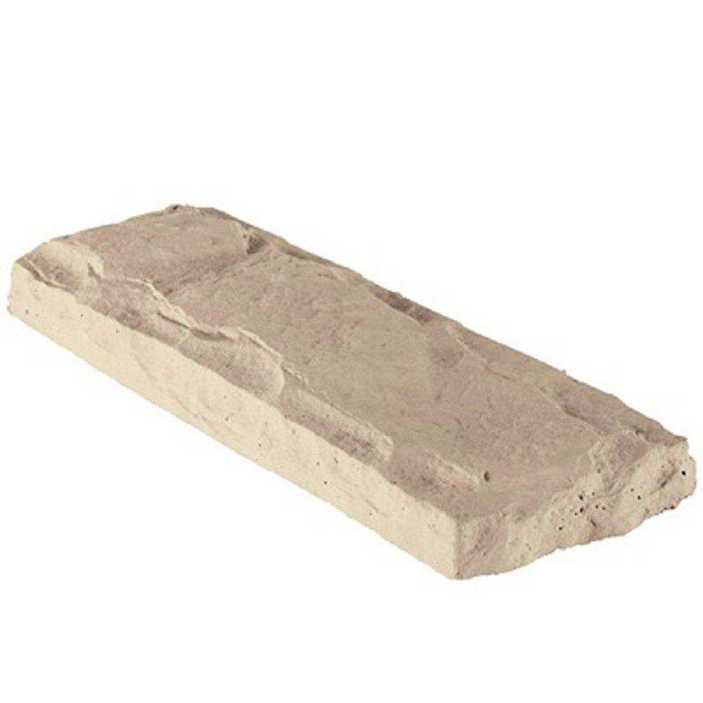 Header Stone Mojave 22.5 in. x 8 in. Manufactured Stone Accessory