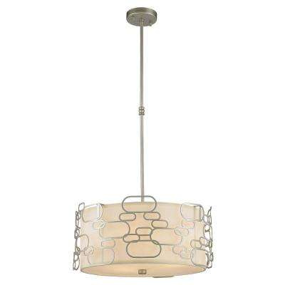 Montauk 5-Light Matte Nickel Pendant