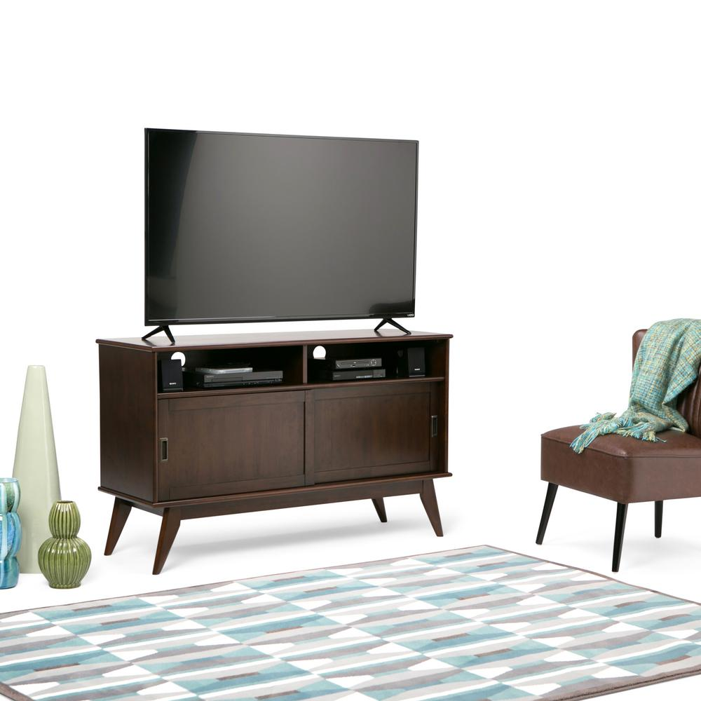 Simpli Home - TV Stands - Living Room Furniture - The Home Depot