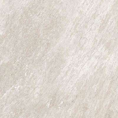 24 in. x 24 in. x 0.75 in. Alpe Silver Porcelain Paver
