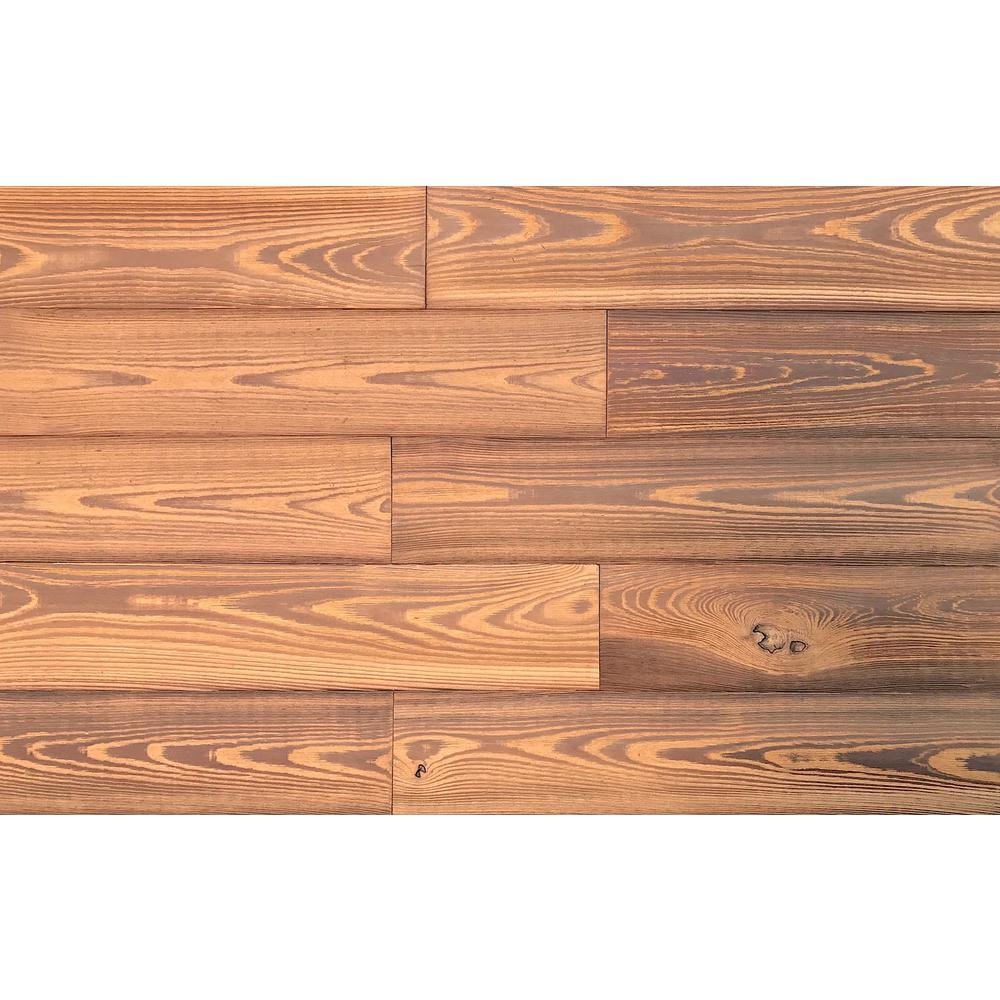 Easy Planking 1/4 in. x 5 in. x 2 ft. Gold Reclaimed Smart Paneling 3D Barn Wood Wall Plank (Design 2) (12 – Case)