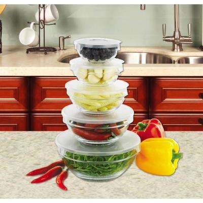5-Piece Bowl Set with Lids