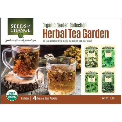Organic Herbal Tea Collection (4-Pack)