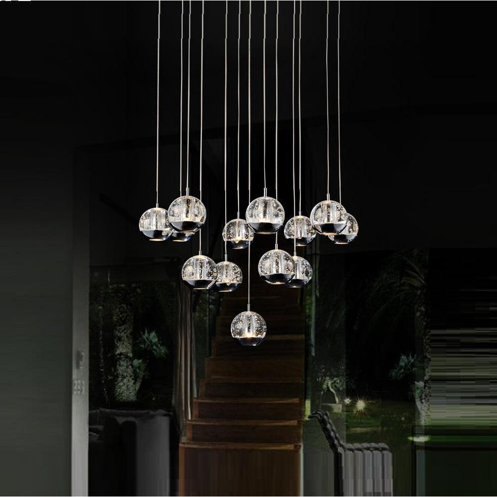 CWI Lighting Perrier 13-Light Chrome Chandelier-5444P24C-R - The ...