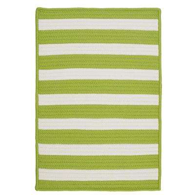 Baxter Lime 12 ft. x 15 ft. Indoor/Outdoor Braided Area Rug