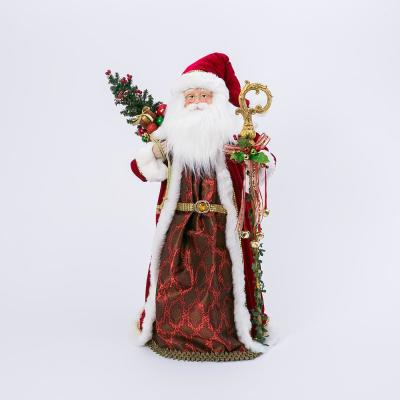 2ft Tall Decorative Merry Mistletoe Tree Red Co Artificial Plants Flowers Artificial Shrubs Topiaries