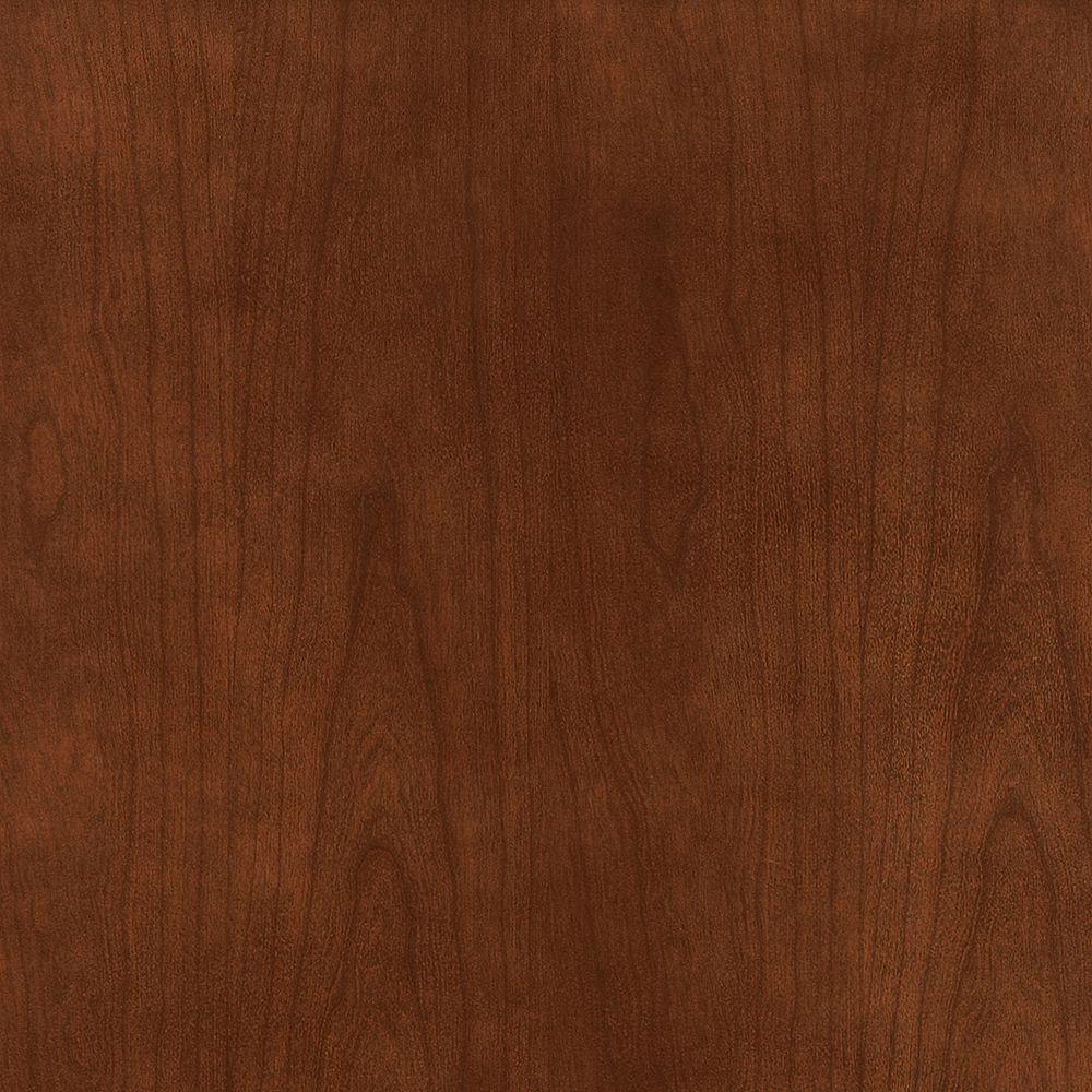 American Woodmark 14-9/16x14-1/2 in. Cabinet Door Sample in Hanover Cherry Spice