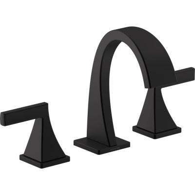 Katun 8 in. Widespread 2-Handle Bathroom Faucet in Matte Black