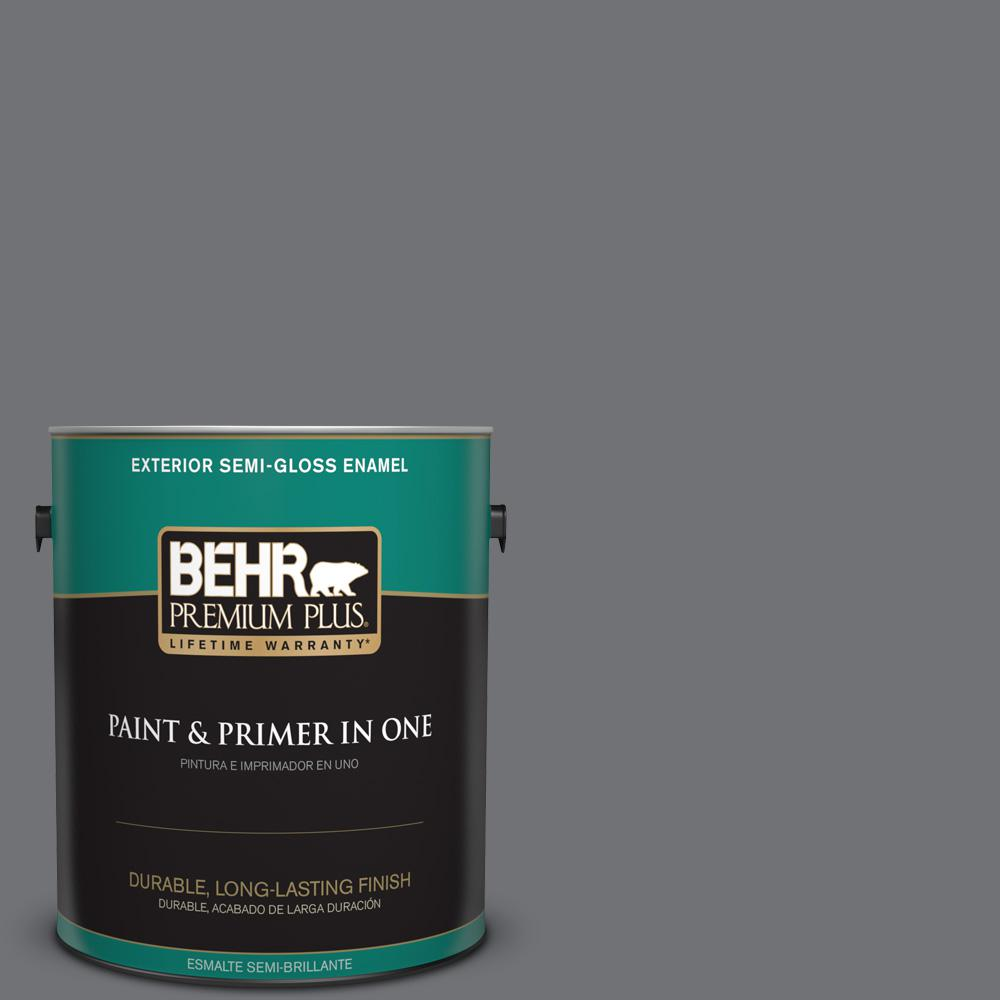 1 gal. #PPU18-03 Antique Tin Semi-Gloss Enamel Exterior Paint