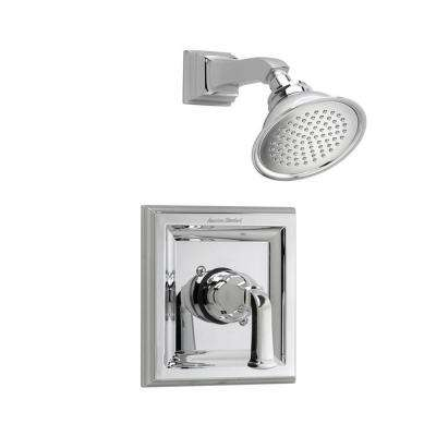 Town Square 1-Handle Shower Faucet Trim Kit with Volume Control in Polished Chrome (Valve Sold Separately)