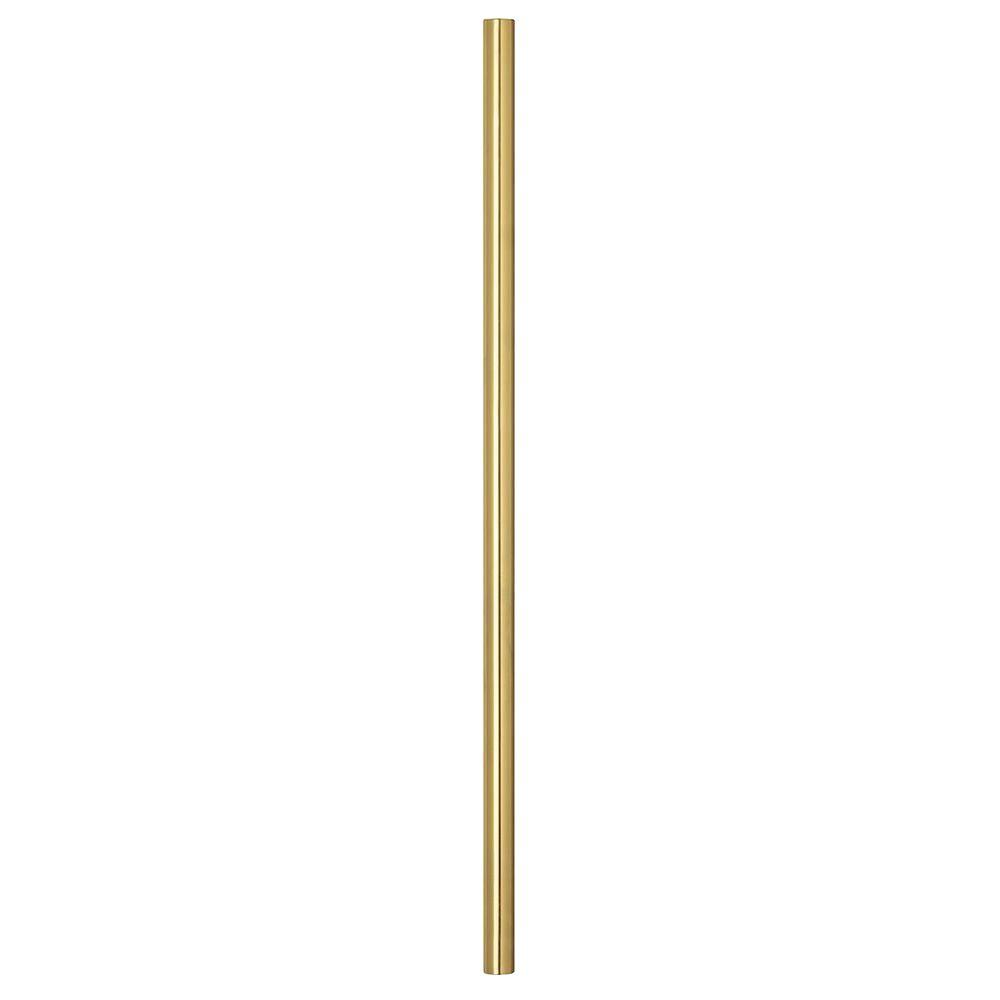 NuTone 12 in. Polished Brass Extension Downrod
