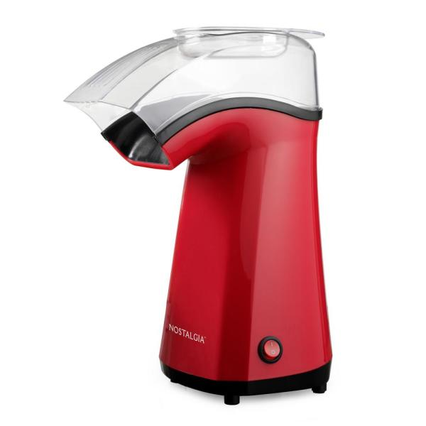 Air Pop Hot Air 4 oz. Red Countertop Popcorn Machine